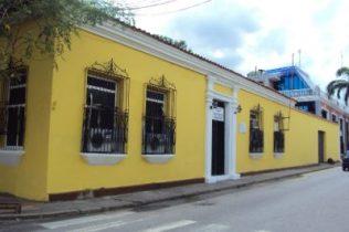 Fachada de la casa cuando era sede de la Contraloría del estado Barinas. Archivo Cronista
