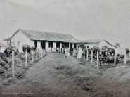 Ferrocarril Bolívar. Estación Barquisimeto, 1908. Foto El Cojo Ilustrado. Dig. Derbys Alexis Suarez @fundhea, aporte a @RielesVenezuela.