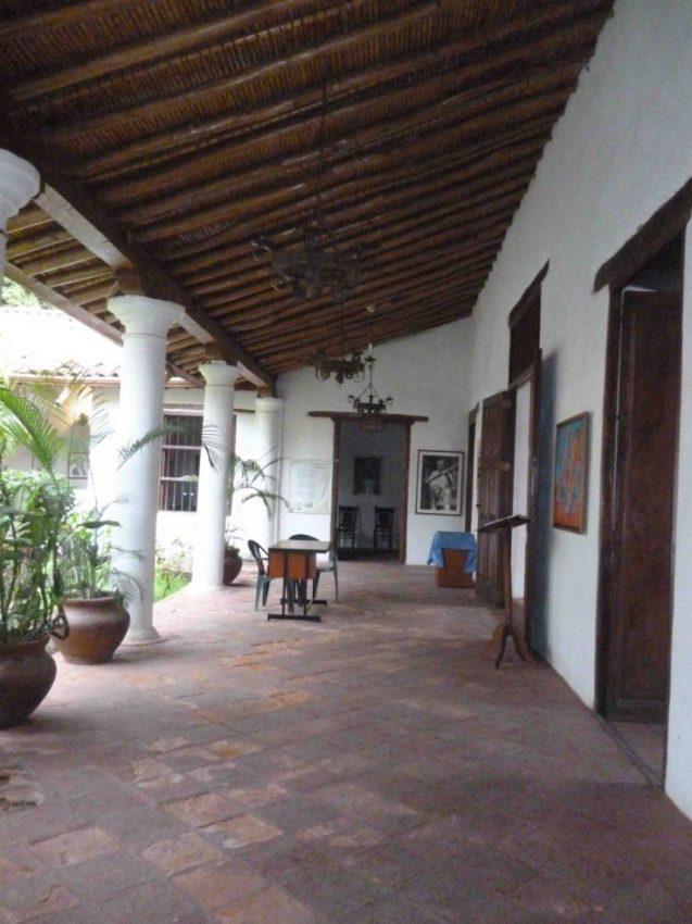 Foto 1 Vista de los corredores. Foto. Marinela Araque. Año 2017