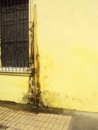 Humedad por el uso de aires. Año 2012. Archivo Hurtado
