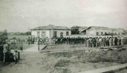 Inauguración de la Plaza Bolívar de Barinas, 21 de diciembre de 1930. Foto Autor anónimo. Colección Instituto de Investigaciones José Esteban Ruiz Guevara. Digitalización: Marinela Araque.
