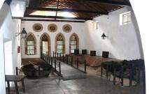 Vista interior de una sala del museo. Foto Turismoenaragua.com.ve