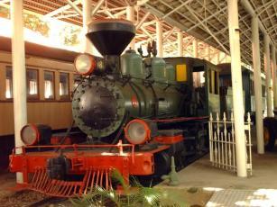 Museo del Transporte Guillermo José Schael, en Caracas. Patrimonio cultural de Venezuela.