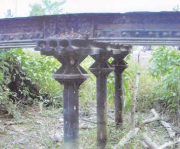 Ruinas del antiguo Ferrocarril Bolívar