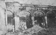 Interior del palacio del marqués, 1936. Foto digitalización Samuel Hurtado C.