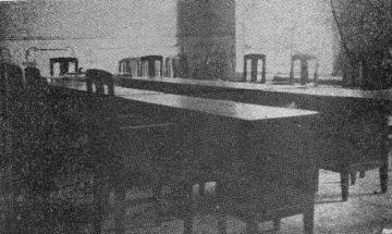 El interior del palacio, tras su reconstrucción en 1940. Foto dig. Samuel Hurtado Camargo.