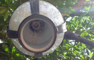 El tráfico de cableado y vandalismo dejaron sin luz a muchas plazas de Venezuela quedaron sin luz por la Así luce la mayoría de su luminaria.Año 2017. Ola de robos de bronce y cobre del patrimonio cultural venezolano.