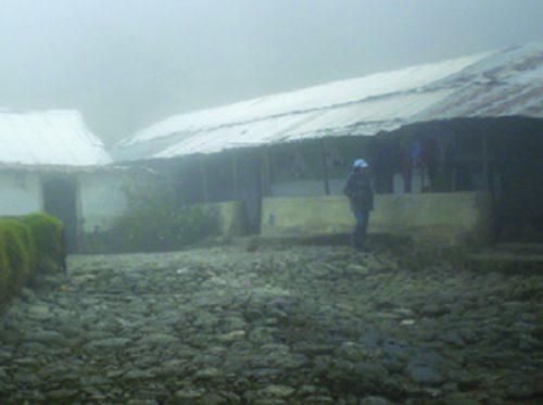 Casa del molino, representativa de la consrucción del Trujillo profundo de antaño. Foto IPC.