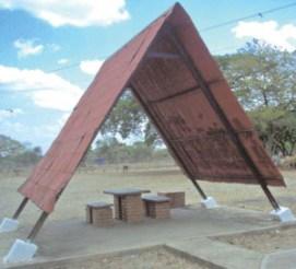 La estructura es mínima, dejándole el protagonismo al paisaje. Foto IPC.