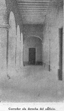 Corredor del ala derecha del palacio Marqués de Pumar. Foto dig. Samuel Hurtado Camargo.