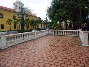 Glorieta de la plaza Bolívar de Barinas. Foto M. Araque.