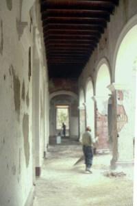 La restauración en varias etapas, imperó el secretismo. Foto Junior Palacios, 2012.
