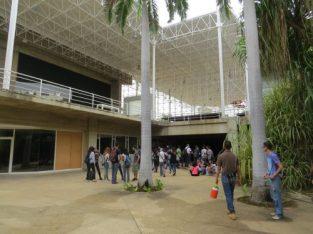 Instalaciones del Jardín Botánico de Maracaibo, tras su restauración.