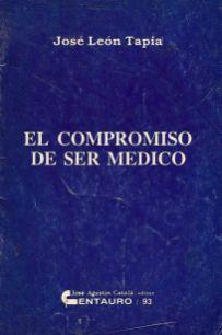 """""""Mi compromiso de ser médico"""". 1993. Digitalización Marinela Araque."""