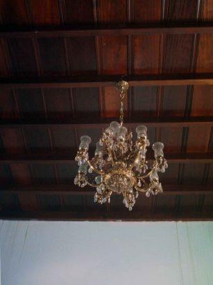 Mobiliario del palacio en su restauración de 2006. Foto archivo del cronista oficial de Barinas.