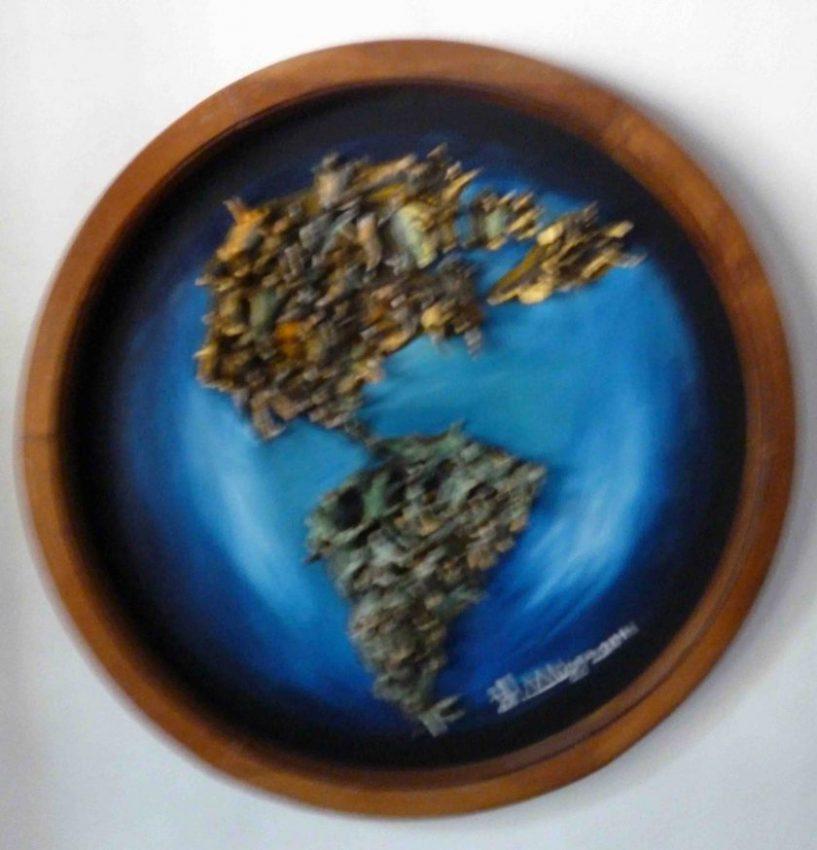 """""""La tierra"""". Foto. M. Araque."""
