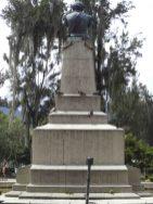 Vista posterior del monumento Páez, mayo 2017. Foto Samuel Hurtado Camargo
