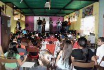 Actividad cultural en el Centro Cultural Tito Lino Molina, una labor comunitaria de más de 31 años en El Vigía, estado Mérida. Venezuela.