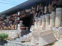 La cestería convierte a El Abejal en corredor turístico.