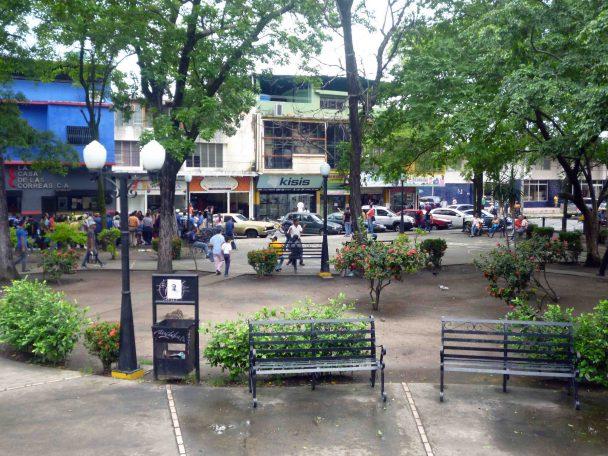 Plaza José Félix Ribas, Barinas. Aspecto general.