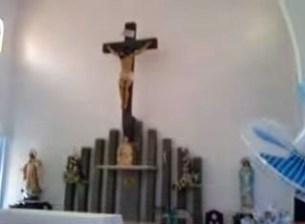 Altar mayor de la capilla Madre Ràfols, en Valera, Trujillo. Venezuela.