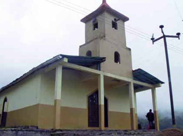 Capilla de Río Azul, bien cultural del estado Táchira, Venezuela.