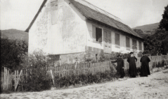 Casa Benitz en 1927. (foto-reproducción del libro de Leopoldo Jahn. Autor desconocido).