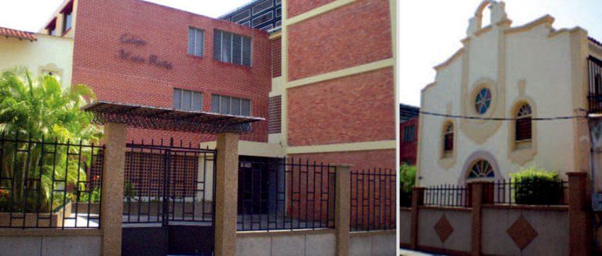 Colegio y capilla Madre Rafols