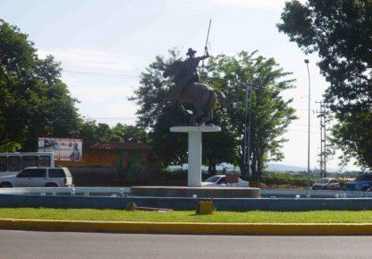 redoma de Punto Fresco. Patrimonio cultural de Barinas, Venezuela.