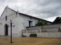 Lateral izquierdo de la iglesia San Nicolás de Bari, municipio Obispos del estado Barinas. Venezuela
