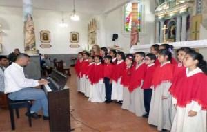 Niños Cantores del Valle de Momboy, Trujillo. Escuela perteneciente a El Sistema de Orquestas Juveniles de Venezuela.