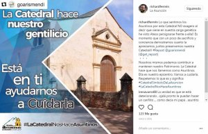 Campaña municipal para cuidar la catedral Nuestra Señora de La Asunción, en la isla de Margarita.