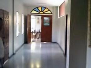 Puerta del colegio a la capilla Madre Ràfols de la ciudad de Valera, Trujillo Venezuela.