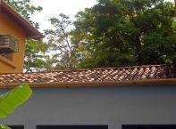 Aspecto del techo del Grupo Escolar Estado Guárico, monumento histórico nacional de Venezuela, en el estado Barinas.