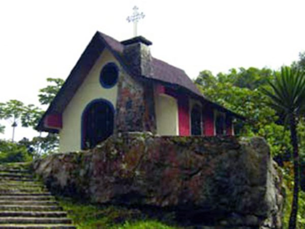 Capilla de San Benito fotografiada por el IPC,durante el I censo del patrimonio cultural venezolano.