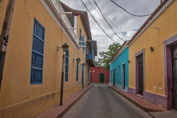 Coro - La Vela, Patrimonio Cultural de la Humanidad, en la lista de peligro de la UNESCO. Falcón, Venezuela.