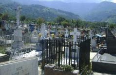 Cementerio municipal de Boconó, fundado en 1905. Patrimonio cultural del estado Trujillo, Venezuela.