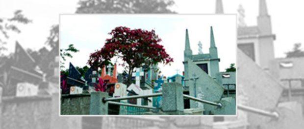 Cementerio municipal de La Azulita. Bien de interés cultural del estado Mérida, Venezuela.