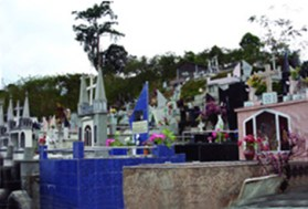 Cementerio municipal de La Azulita. Estado Mérida, Venezuela.