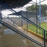 Gradas del estadio de béisbol J. L. Ford, municipio Bolívar del estado Zulia. Venezuela.
