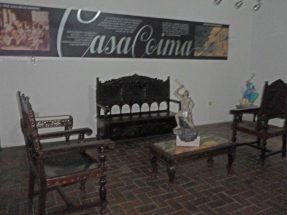Mobiliario de Casacoima en exhibición, Guanare, estado Portuguesa, Venezuela.