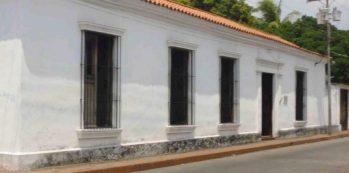 Museo Alberto Arvelo Torrealba o casa La Pulideña., en el casco histórico de Barinas. Venezuela.