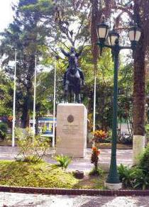 pplaza-bolivar de Rubio, capital del municipio Junín. Táchira.