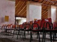 Salón Empedrado del Museo Trapiche de los Clavo. Patrimonio cultural de Boconó, estado Trujillo. Venezuela.