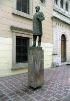 Monumento al Rector Heróico Carraciolo Parra y Olmedo. Patrimonio de Mérida, Venezuela.