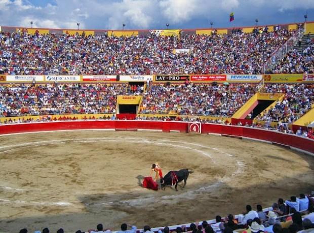 Arena de la plaza de Toros de Mérida Ramón Eduardo Sandia Briceño. Patrimonio cultural de Venezuela.