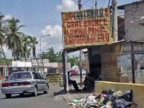 Chatarrera de metales en Machiques, estado Zulia. Patrimonio venezolano en riesgo.