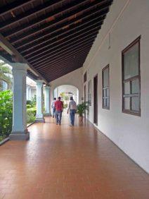 Corredor de la alcaldía de Barinas. Patrimonio arquitectónico de Venezuela.