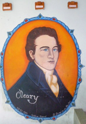 O'Leary fue edecán del Libertador. Foto Marinela Araque, 22 de agosto de 2017.