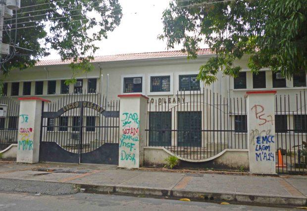 Vandalizados 35 muros de la histórica sede del liceo Oleary, en Barinas. Patrimonio del estado Barinas en peligro. Venezuela.